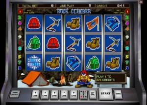 Игровой автомат Rock Climber (Скалолаз ...