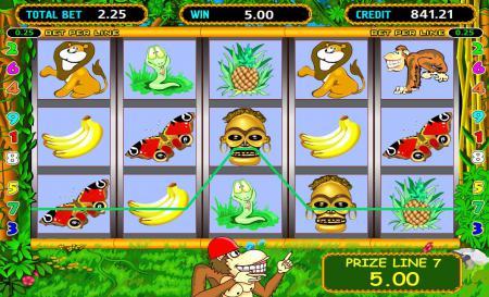 Игровой автомат Crazy Monkey (Обезьянки ...
