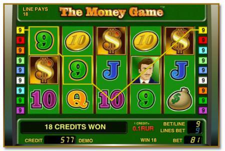 Скачать игровой автомат The Money Game (Игра ...