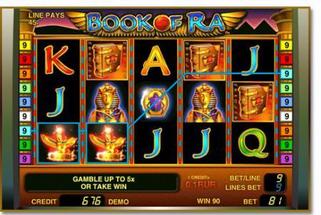 Играть в игровой автомат Book of Ra (Книга ...