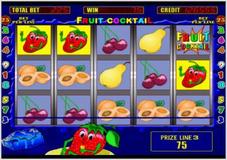 ... бесплатно игровой автомат Fruit Cocktail