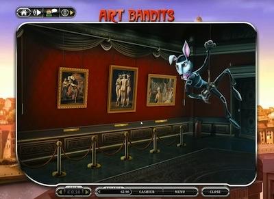 Игровой автомат Art Bandits