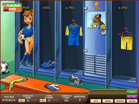 Игровой автомат Футбол Multibonus, игровые ...