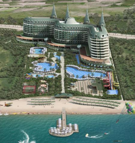 Отель «Delphin Imperial» в Турции (Анталия).