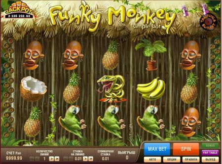 Игровые автоматы Funky Monkey в Русском ...