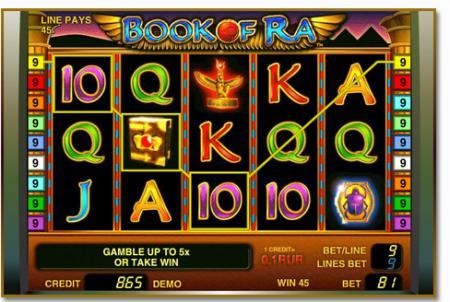 Скачать игровой автомат Book of Ra (Книга ...