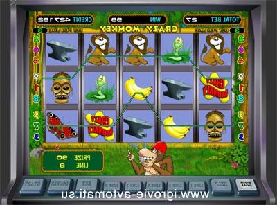 Игровой автомат Crazy Monkey Обезьянки ...