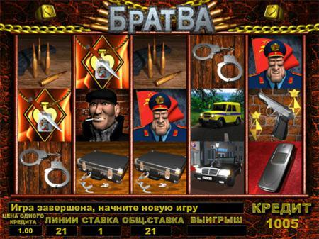 Русский игровой автомат Братва играть ...