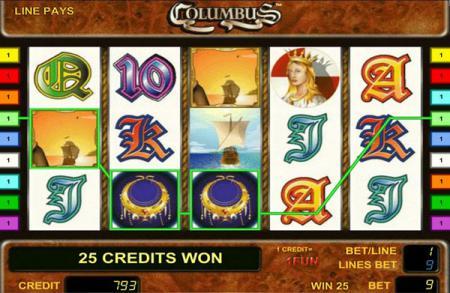 Игровой автомат Columbus (Колумб, Колумбус ...