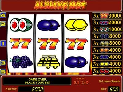 Игровые автоматы онлайн - Always hot ...