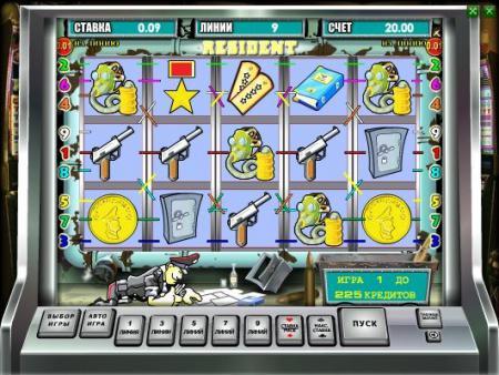 Игровой слот-автомат Resident (Резидент ...