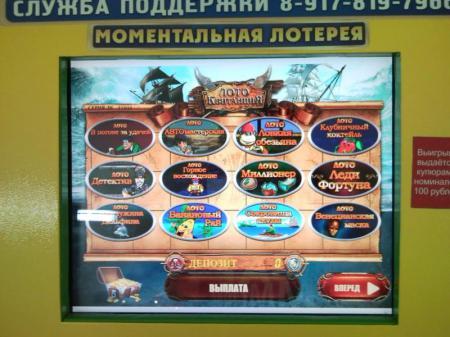 Игровые автоматы лотерея