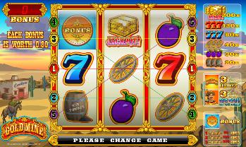 Игровой автомат Gold Mine (Золотой прииск)