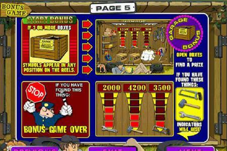 Играть онлайн в игровой автомат Гараж