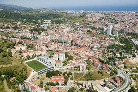 Ampliació Complex Esportiu Les Oliveres, 1ª fase, a Santa Coloma