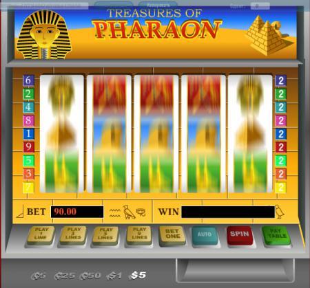 ... игровых автоматов онлайн Фараон