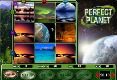 Игровой процесс автомата Perfect Planet
