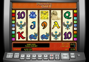 Игровые автоматы «Фараон» — играть ...