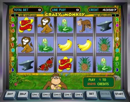 Игровые автоматы играть крейзи манки