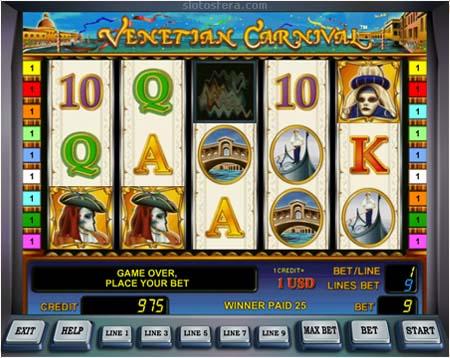 Игровой автомат Venetian Carnival ...