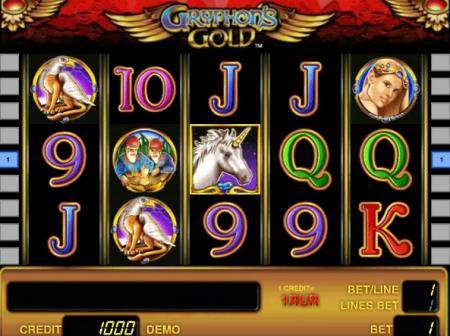 Игровые автоматы золото грифона