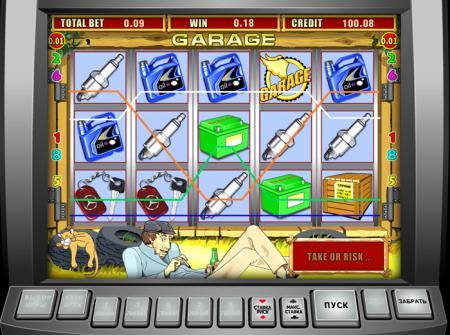... небольшое Flash-лобби с играми казино
