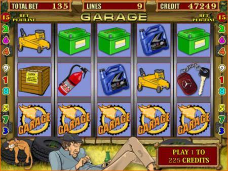 игровые автоматы бесплатно гараж