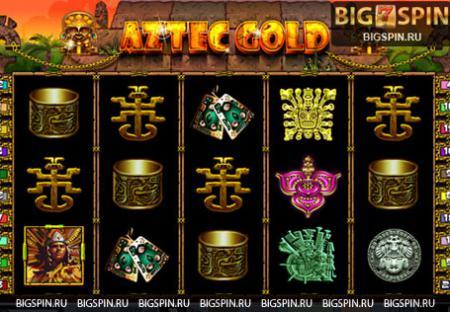 в игровой автомат Золото Ацтеков ...