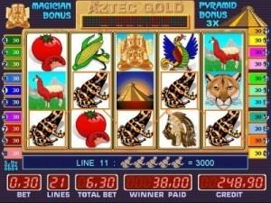 Игровой автомат Aztec Gold (Золото Ацтеков ...