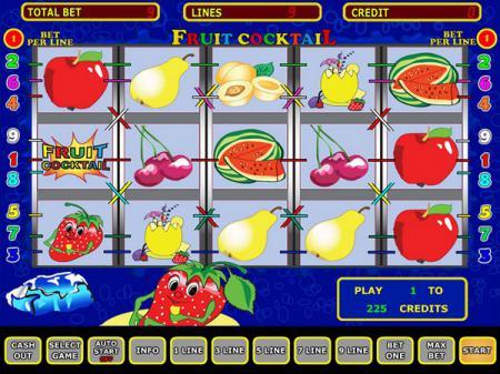 фруктовый коктейль - игровой автомат ...