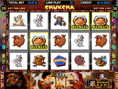 Игровой автомат Чукча (Chukcha) играть ...