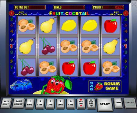 ... любимый игровой автомат Fruit Cocktail