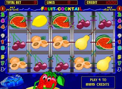 ... игрового автомата Fruit Cocktail (Клубнички