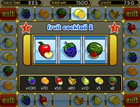 ... автоматы Клубничка 2 (Fruit Cocktail 2