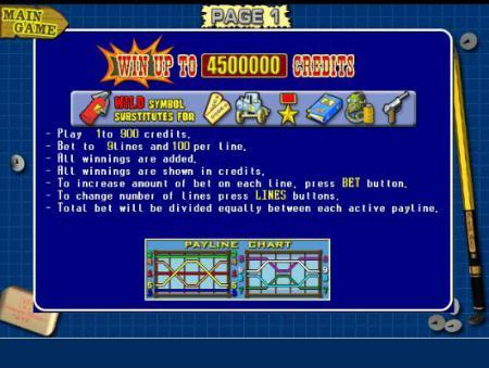 Игровые символы видеослота Резидент