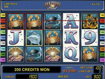 Игровой автомат Дельфины бесплатно ...