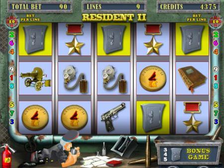 Игровой автомат онлайн Resident - игра про ...