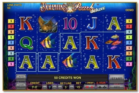 Устройство игрового автомата Dolphin's ...