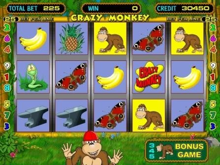 Игровой автомат Crazy Monkey (Крези Манки ...