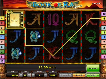 Игровой автомат Book of Ra Deluxe онлайн | Мир ...