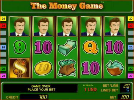 Игровые автоматы - The Money Game игра денег ...