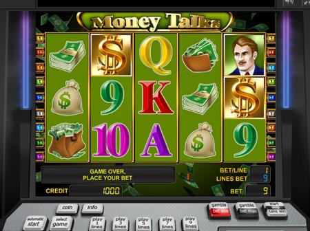 Игровой автомат Money Talks играть онлайн