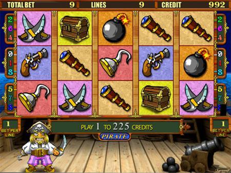 Играть в автомат Pirate бесплатно онлайн