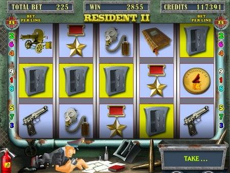 игровые автоматы резидент играть бесплатно онлайн