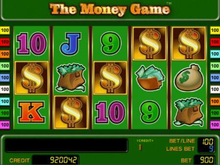 Играть онлайн игровой автомат The Money Game ...