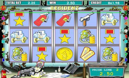 Игровые автоматы Резидент играть ...