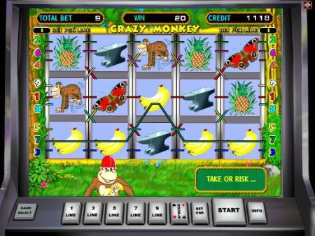 Игровые автоматы играть крейзи манки ...