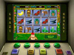 Ветеран казино игровой автомат Crazy Monkey
