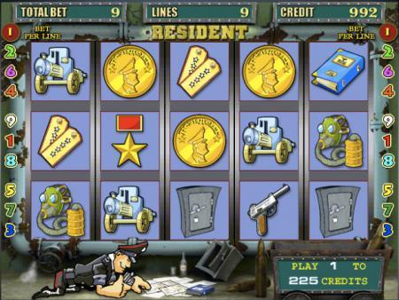 играть резидент игра автомат онлайн бесплатно