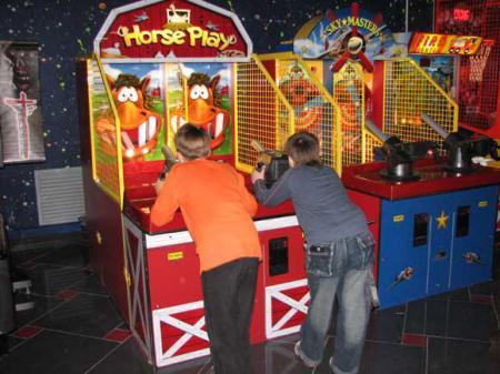 детские игровые автоматы для детей